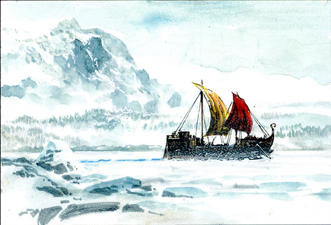 Thorgal 33 barque viking