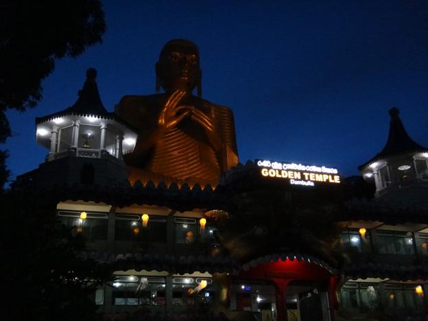 dambulla bouddha geant sri lanka