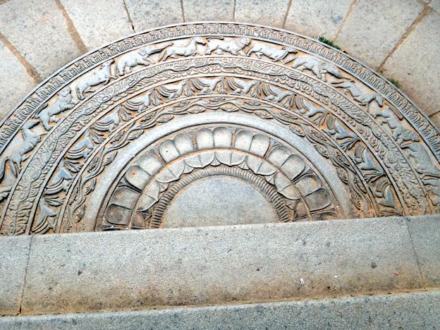 moonstone Anuradhapura sri lanka