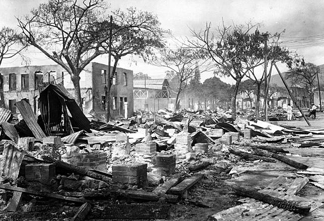 papeete bombardee 1914