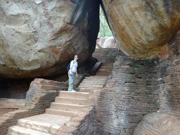sigiriya escalier 800 marches sri lanka