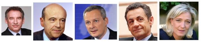 2014 candidats de droite