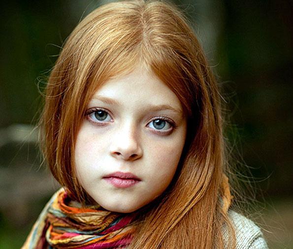 fillette rousse
