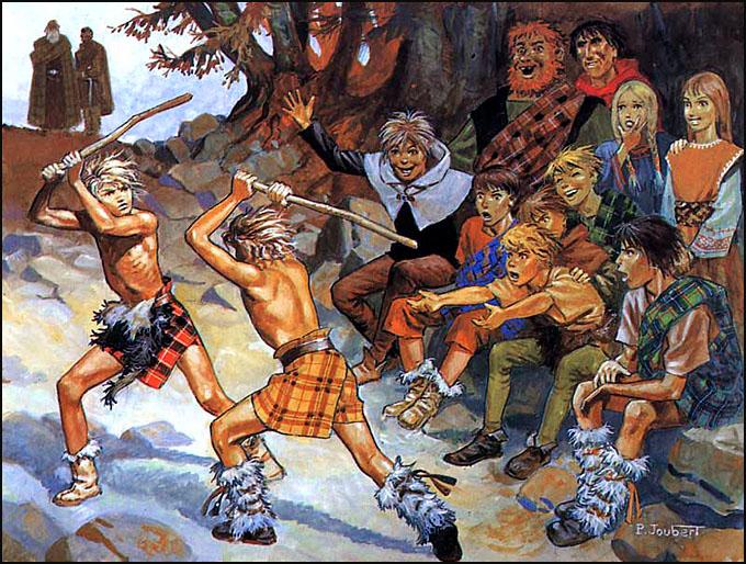 duel ados torse nu pierre joubert Angus