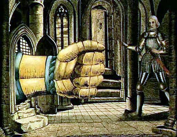 main de spectre Le Chateau d Otrante