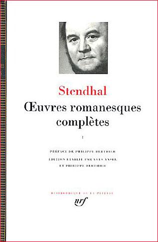 stendhal pleiade 1