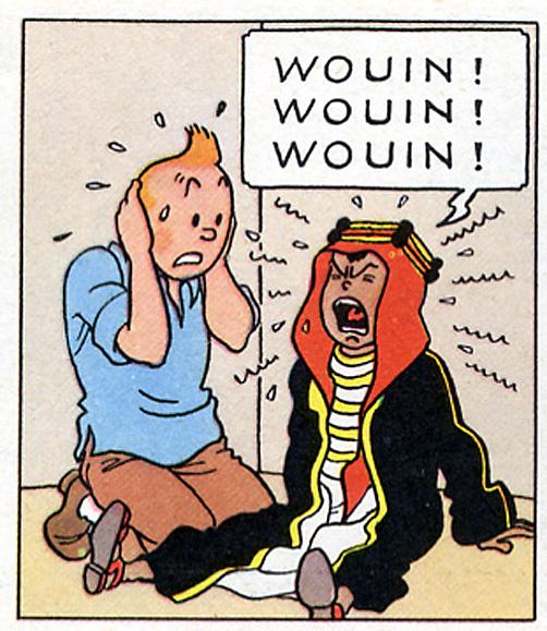 Abdallah Tintin au pays de l or noir
