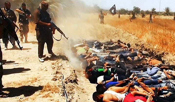 Daesh massacre