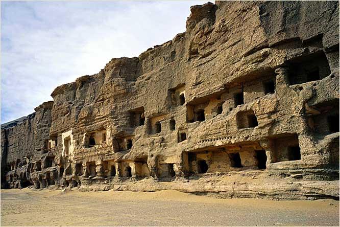 grottes aux mille bouddhas de mogao