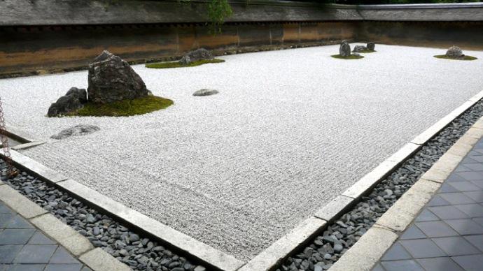 ryoanji jardin zen