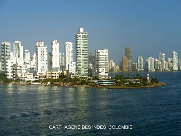 carthagene des indes colombie