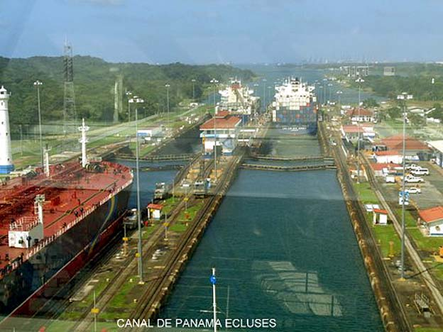 panama canal ecluses