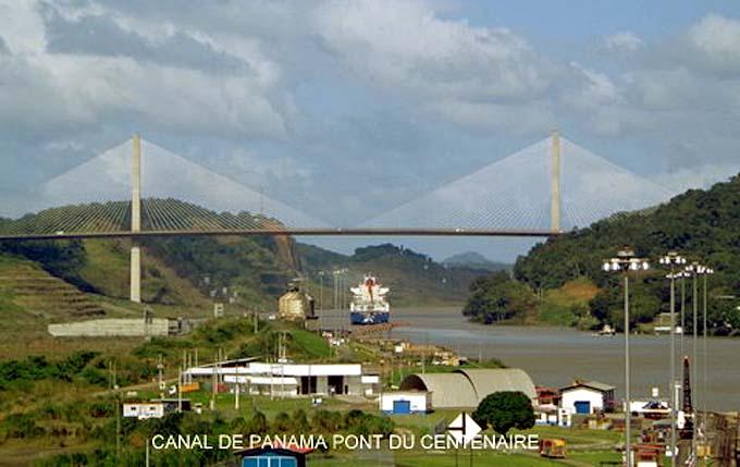 panama canal pont du centenaire