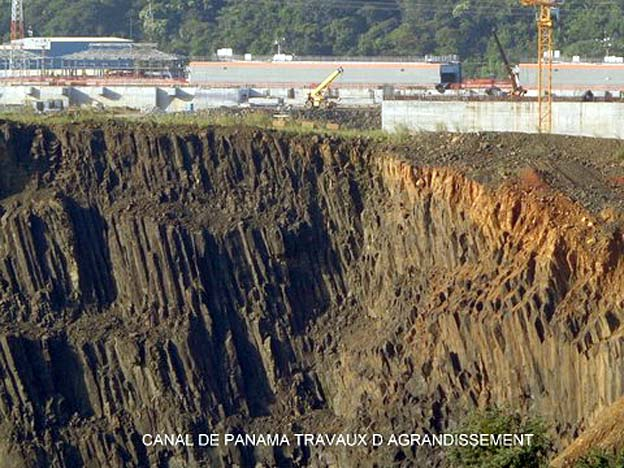 panama canal travaux agrandissement