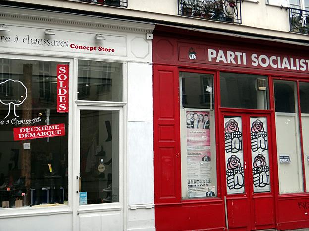 parti socialiste solde a paris