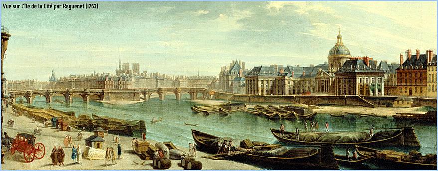 1763 paris ile de la cite par raguenet