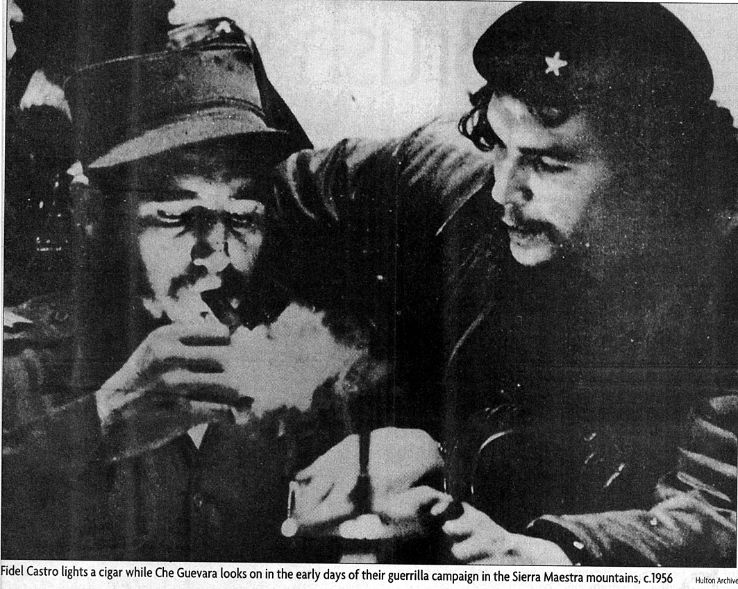 Castro et Che 1956