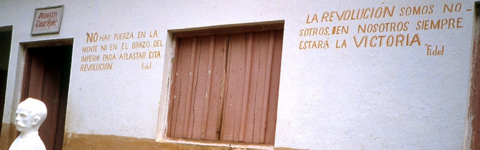 Cuba slogans revolutionnaires