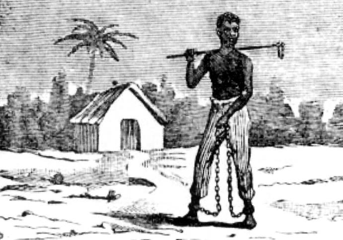 esclave enchaîné cuba