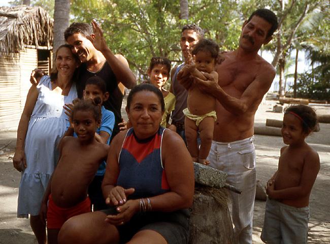 famille de pecheurs cuba