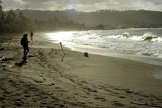 plage de sable noir cuba