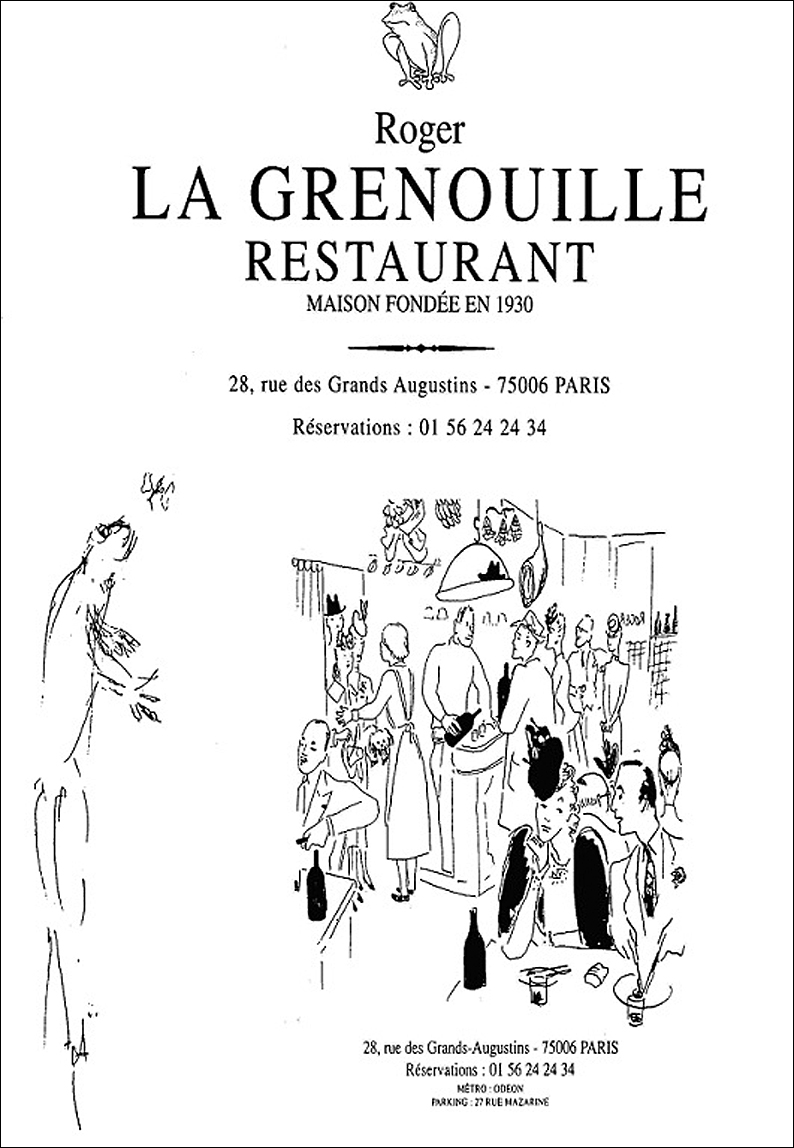 Roger la grenouille carte presentation argoul for Roger la grenouille