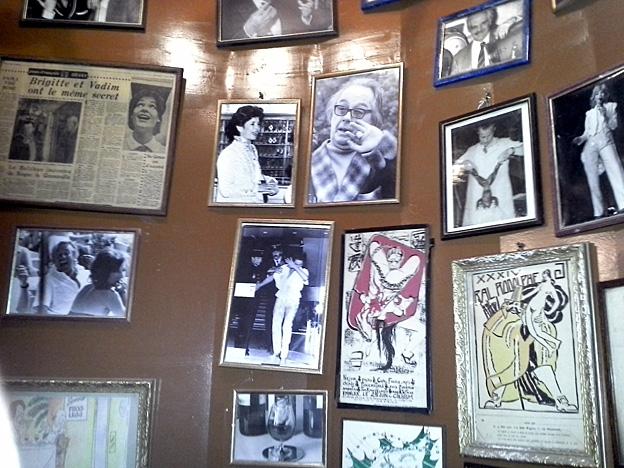 Roger la Grenouille mur des celebrites