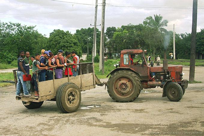 tracteur de cuba