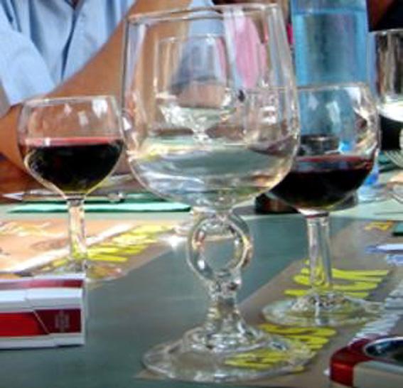 verres et vin