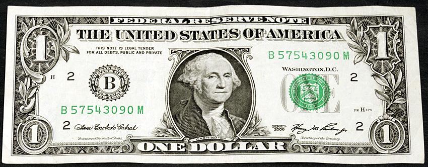 billet 1 dollar #1