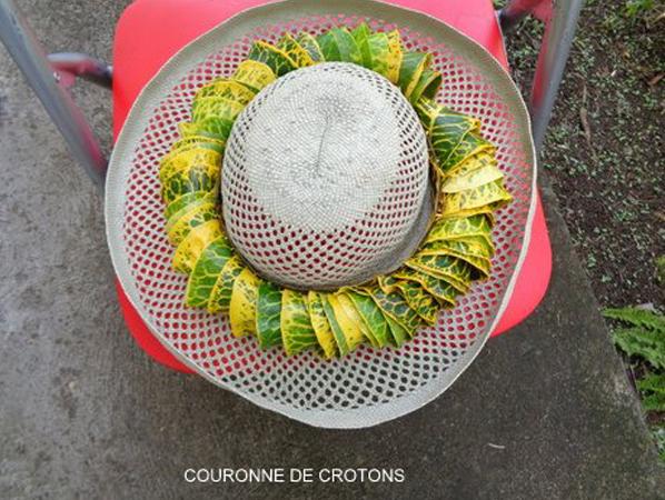 COURONNE DE CROTONS