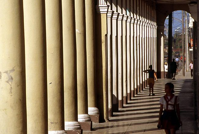 colonnes cuba