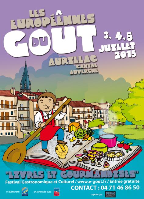 europeennes du gout 2015