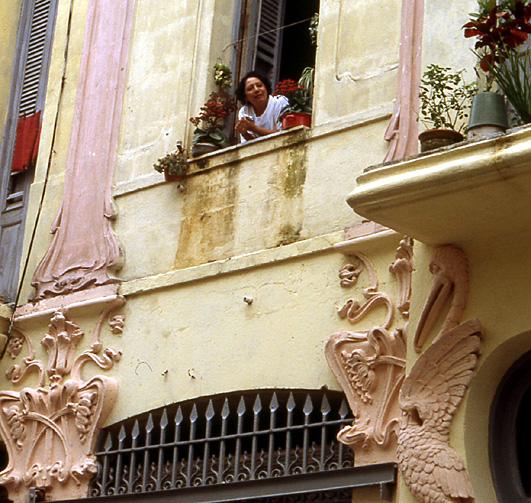 la havane femme au balcon
