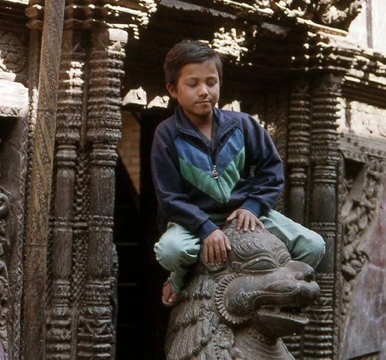 nepal gamin bhaktapur