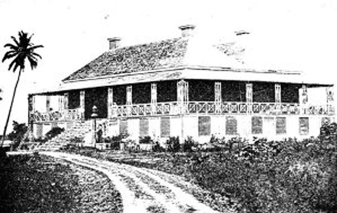 residence de william stuart tahiti