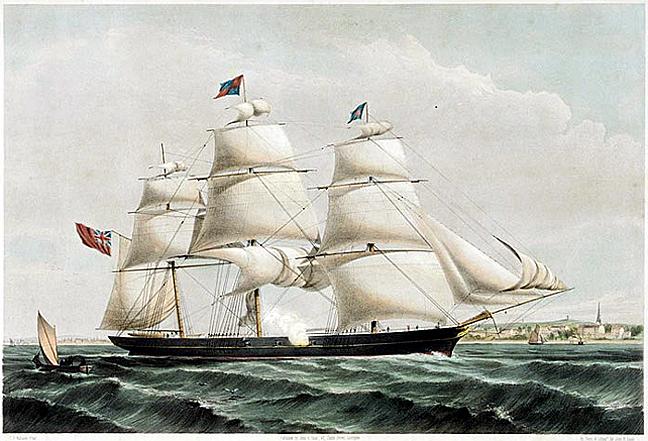 spray of the ocean 1854