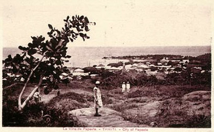 1940 Papeete Tahiti