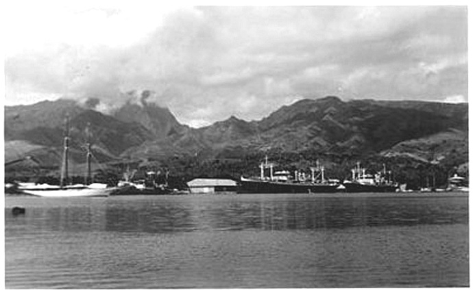 1940 port de Tahiti