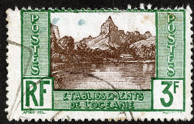 1940 timbre oceanie