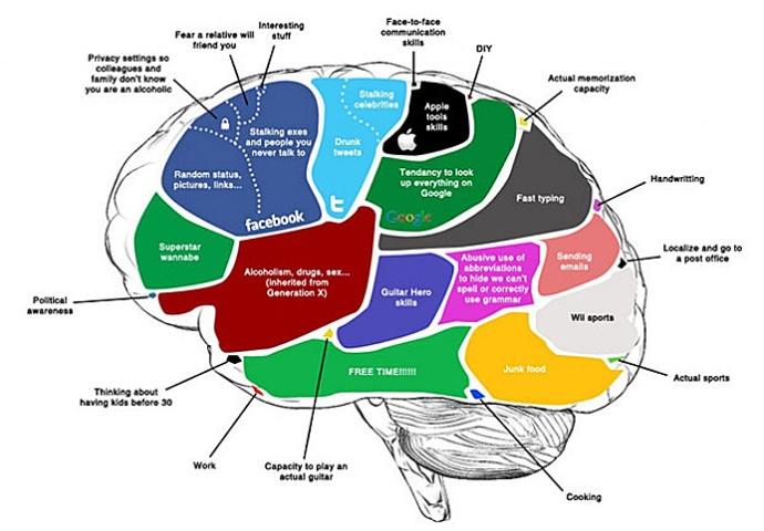 cerveau generation Y