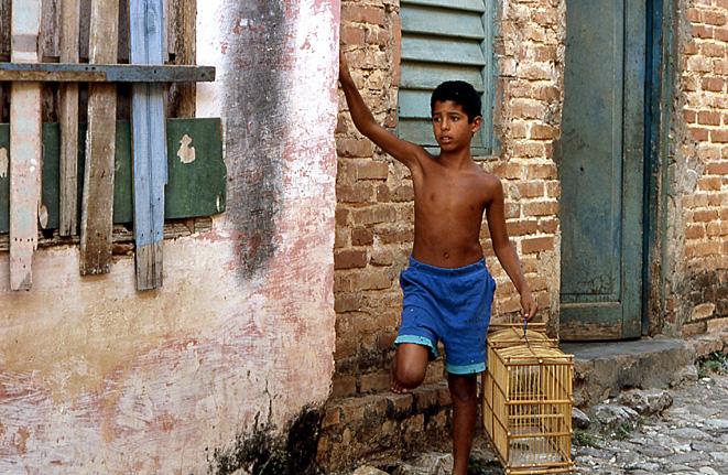 gamin oiseleur torse nu trinidad cuba