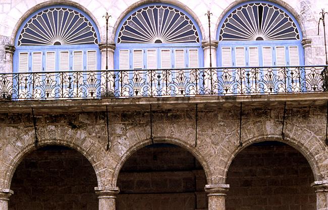la havane arcades palais de bayona y chacon