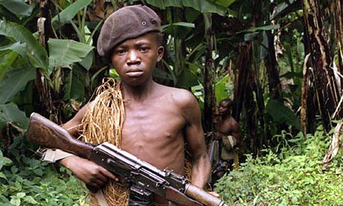enfant soldat afrique