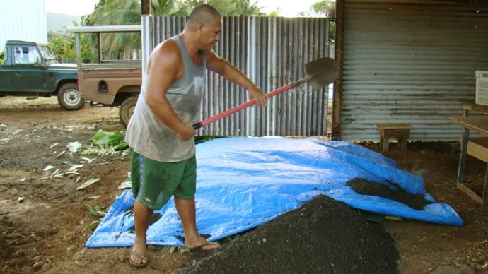 fermeture du four tahitien