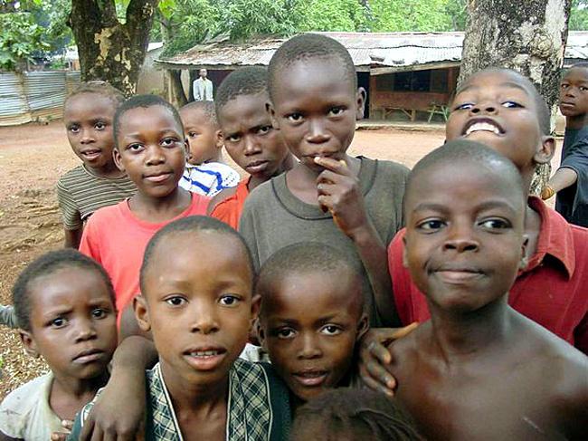 gamins africains