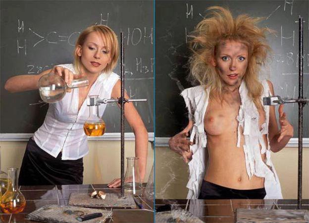 prof de chimie