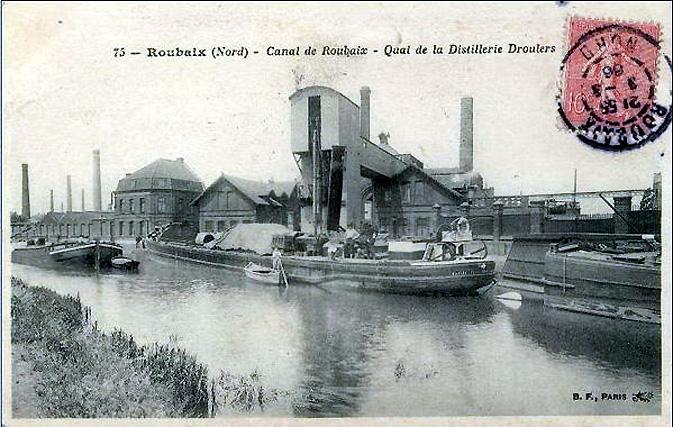 Roubaix quai-de-la-distillerie-Droulers
