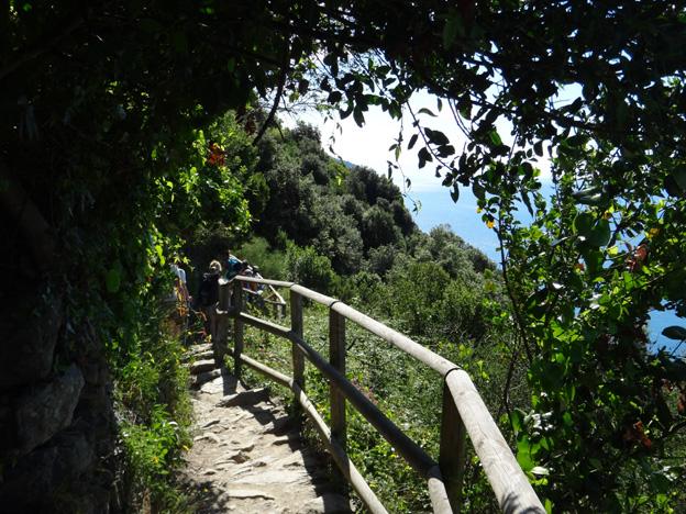 sentier monterosso vernazza