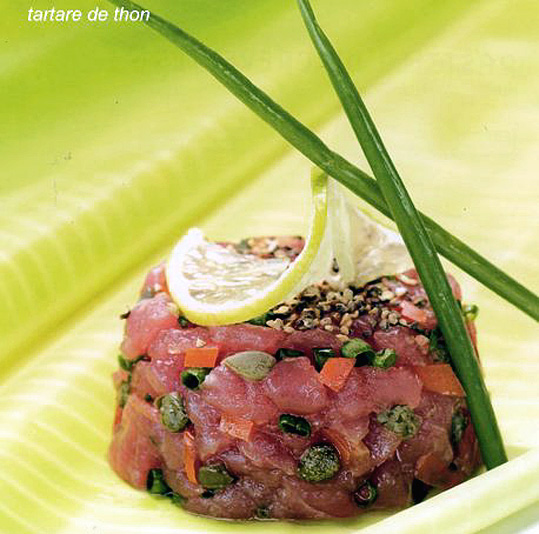 tartare de thon tahitienne